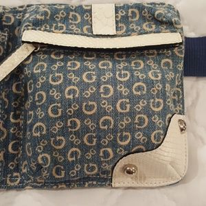 Guess Bags - GUESS Denim Belt Bag BACK IN STYLE😍
